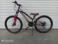 "Горный велосипед Crosser XC-100 24"" алюмин,рама 11,8"",БЫСТР.СЪЕМ КОЛЕС,SHIMANO,РЕГУЛИР.ВИЛКА собран в коробке"