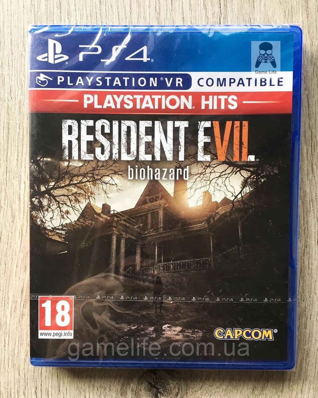 Resident Evil 7 Biohazard (рус. суб.) PS4