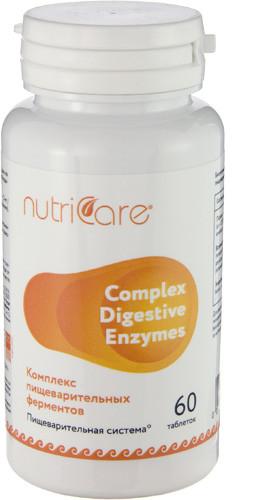 Комплекс пищеварительных ферментов (Complex digestive enzymes) Nutriсare Арго 60 таблеток