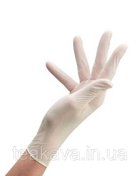 Перчатки латексные смотровые, размер L, 100 шт