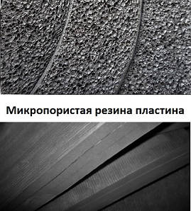 Микропористая резина пластина