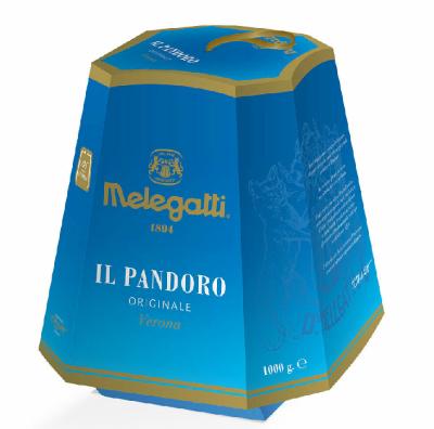 Панеттоне Pandoro Melegatti originale Verona 1 kg, фото 2