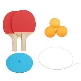 Упругие Soft Шахта Настольный теннис Пинг-понг Тренировка по пинг-понгу Набор Спортивная тренировка Набор-1TopShop