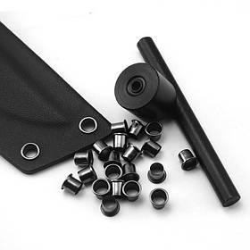 60pcs 1.5-2mm K ножны для глаз заклепки ножны Заклепки Зажимы устьица с установкой Инструмент-1TopShop