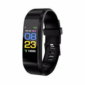 Фитнес браслет 115 plus smart bracelet Черный
