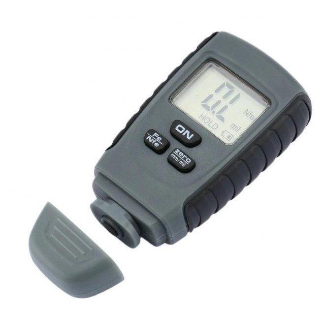 Толщиномер автомобильный RM660 ЛКП с калибровочными пластинами