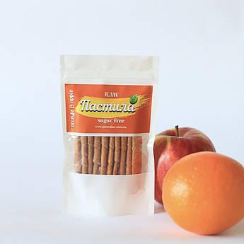 Пастила с яблоком и апельсином