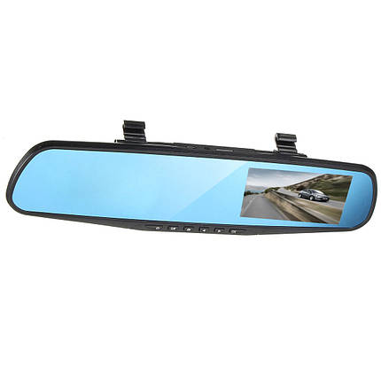 4дюймов1080PHDДвойнойОбъектив Авто Видеорегистратор Видеомагнитофон Зеркало заднего вида заднего вида камера Набор-1TopShop, фото 2