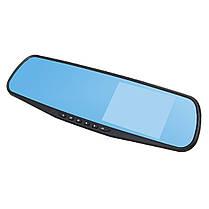 4дюймов1080PHDДвойнойОбъектив Авто Видеорегистратор Видеомагнитофон Зеркало заднего вида заднего вида камера Набор-1TopShop, фото 3