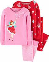 Красивые детские пижамы Балерины Картерс для девочки (поштучно)