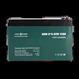 Тяговый свинцово-кислотный аккумулятор LP 6-DZM-12 - под Болт М5, фото 3