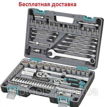 Набор инструмента STELS 82 ед. с пожизнен. гарантией +противоуд. кейс 14105