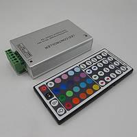 Контроллер светодиодной ленты RGB 12A, пульт на 44 кнопки, радиоуправление