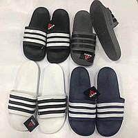 Сланцы/шлепки/шлепанцы/Adidas/ адидас/серые