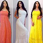 Воздушные Хлопковые Платья и Сарафаны. Производство Индия.  100% хлопок. Размеры: 48-60, фото 10