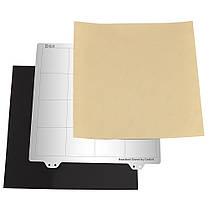Платформа с подогревом 220 * 220 мм Горячая кровать Сталь Пластина с магнитной наклейкой B сторона + лист PEI для 3D-принтера Prusa i3-1TopShop, фото 3