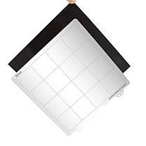Платформа с подогревом 220 * 220 мм Горячая кровать Сталь Пластина с магнитной наклейкой B сторона + лист PEI для 3D-принтера Prusa i3-1TopShop, фото 2