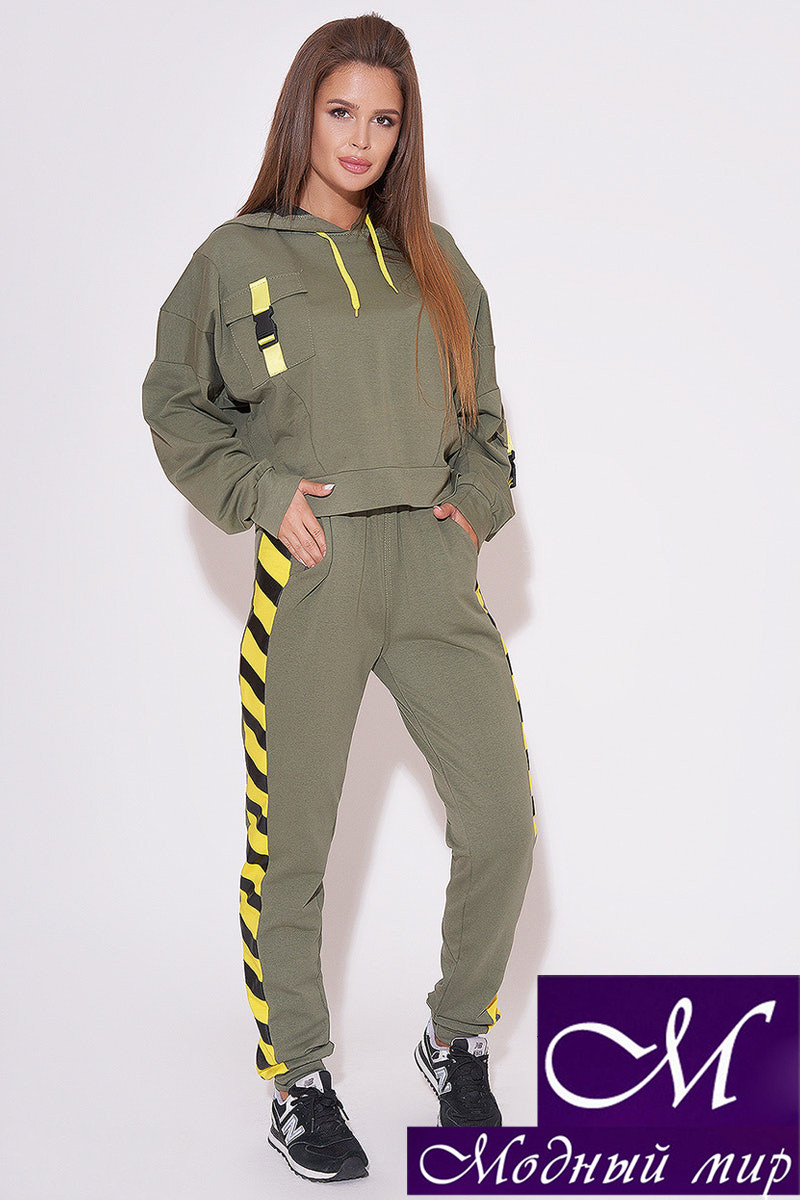 Модный спортивный костюм женский (р. 42-44, 44-46, 46-48) арт. 31-645
