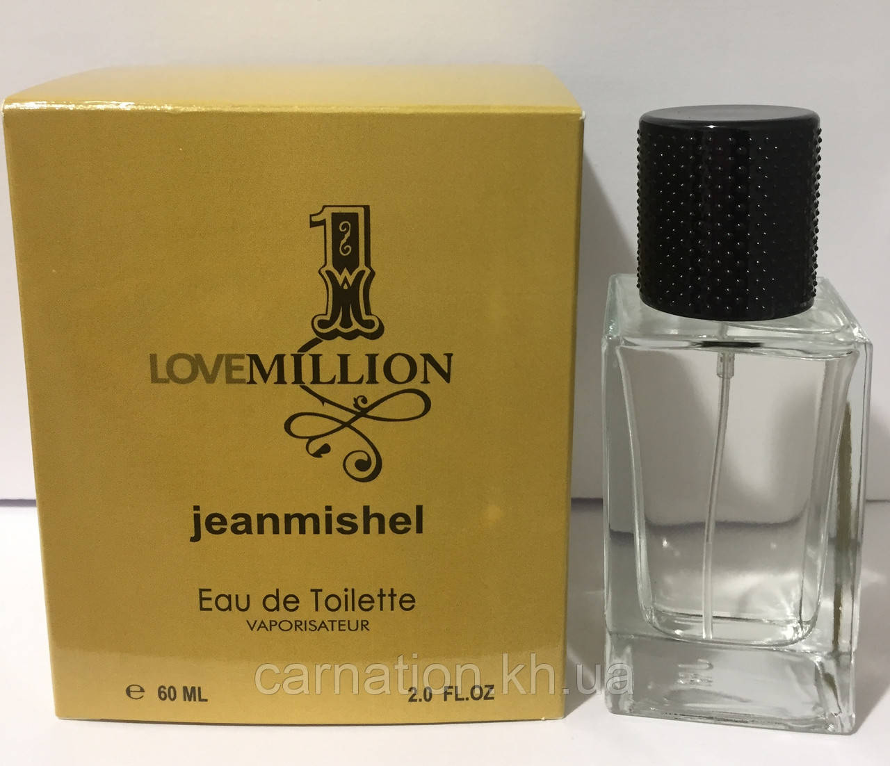 Мужской парфюм Jeanmishel Love 1 Million 60 мл
