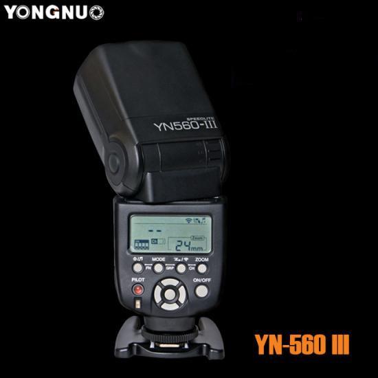 Вспышка Yongnuo yn-560III c встроеным синхронизатором + Гарантия 1 год от магазина
