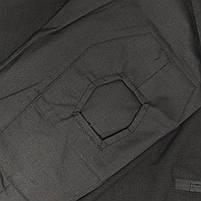 Тактическая рубашка Lesko A655 Black 2XL (38 р.) кофта с длинным рукавом камуфляжная армейская для военных, фото 5
