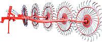 Грабли-ворошилки польские 5 колес