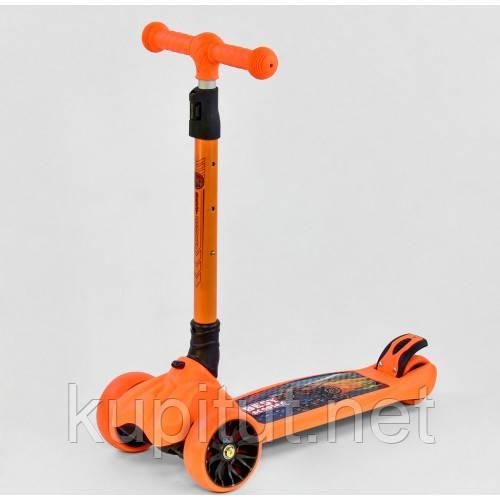 Самокат трехколесный MAXI 16670 Best Scooter , Оранжевый