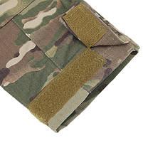 Тактическая рубашка Lesko A655 Camouflage XL (36 р.) кофта с длинным рукавом камуфляжная армейская убокс, фото 5