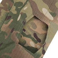 Тактическая рубашка Lesko A655 Camouflage XL (36 р.) кофта с длинным рукавом камуфляжная армейская убокс, фото 8