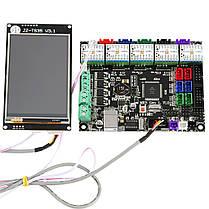 MKS GEN L Материнская плата + 3,5 дюймов LCD WIFI с сенсорным экраном + 5x TMC2209 V2.0 Super Бесшумный Stepper Мотор Драйвер Набор для, фото 2