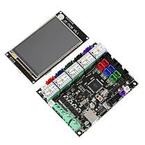 MKS GEN L Материнская плата + 3,5 дюймов LCD WIFI с сенсорным экраном + 5x TMC2209 V2.0 Super Бесшумный Stepper Мотор Драйвер Набор для, фото 3