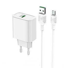 HOCO 22,5 Вт QC3.0 Быстрая зарядка USB зарядное устройство адаптер для iPhone 8Plus XS 11Pro Huawei P30 Pro Mate 30 Xiaomi Mi9 9Pro Oneplus 6T 7