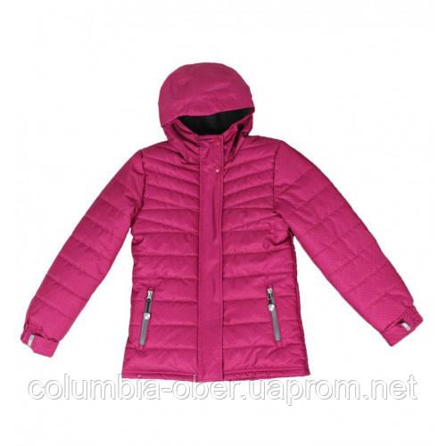 Зимняя подростковая куртка для девочек SNO F18J318 Raspberry. Размер 8 и 14 лет.