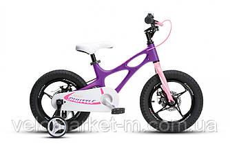 "Велосипед RoyalBaby SPACE SHUTTLE 16"", OFFICIAL UA, фіолетовий"