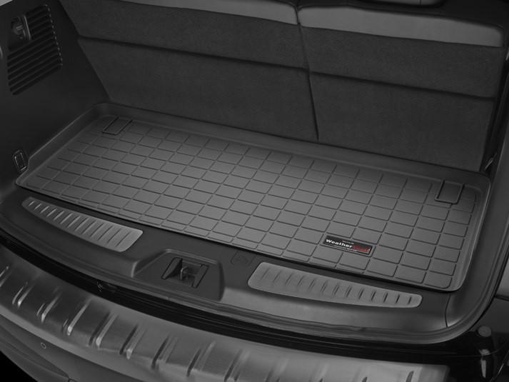 Ковер резиновый WeatherTech Infiniti Qx80 2011-2018 в багажник (за 3-й ряд) черный