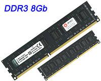 DDR3 8Gb (8Гб) оперативная память PC3-12800 1600MHz black – для INTEL и AMD ДДР3 8 Гб KVR16N11/8 (ОЗУ)