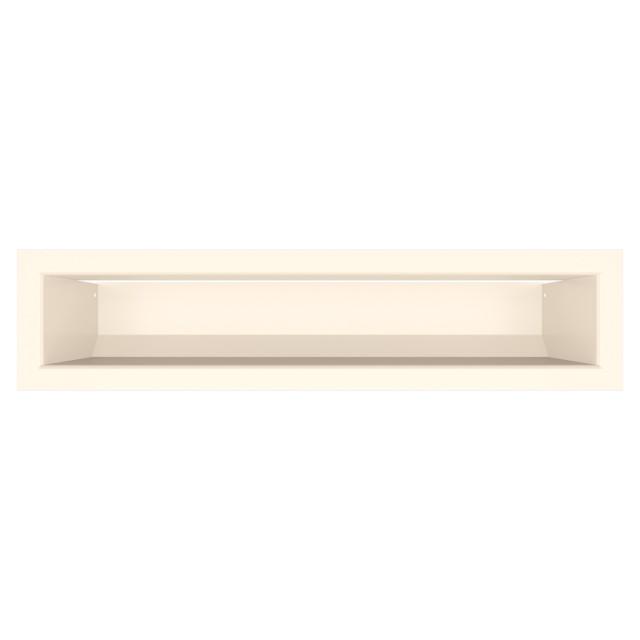 Вентиляционная решетка для камина SAVEN Loft 90х400 кремовая