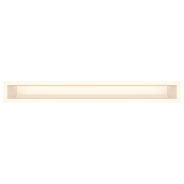 Вентиляционная решетка для камина SAVEN Loft 90х800 кремовая