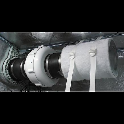Резиновый фитинг для вентиляции Secret Jardin Rubber Duct 125 мм, фото 2