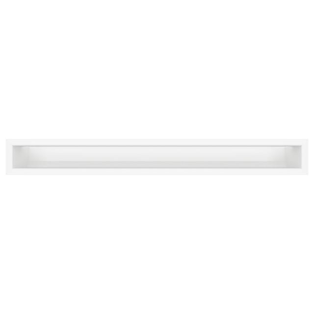 Вентиляционная решетка для камина SAVEN Loft 90х800 белая