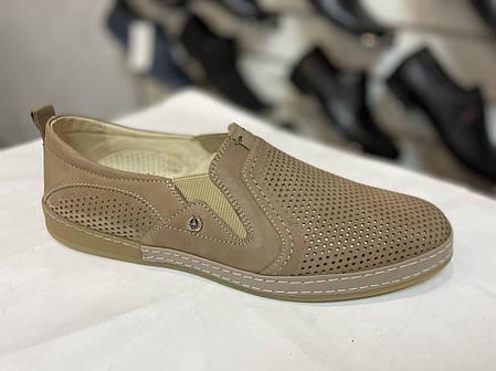 Чоловічі літні туфлі KaDar 2791, фото 2
