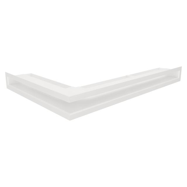 Вентиляционная решетка для камина угловая правая SAVEN Loft Angle 60х600х400 белая