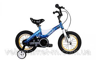 "Велосипед RoyalBaby LEOPARD 16"", OFFICIAL UA, синій"