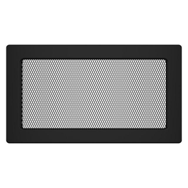 Вентиляционная решетка для камина SAVEN 17х30 черная