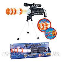 Автомат Ружье 62 см на треноге, свет, звук HSY-008 HSY 008, 011448