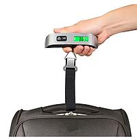Ваги багажні дорожні для багажу електронні до 50кг безмен кантер