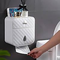 Бумага Полотенце Диспенсер Настенный держатель для бумаги без сверления Ванная комната Диспенсер для туалетной бумаги без сердечника Мус-1TopShop