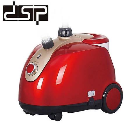 Вертикальный отпариватель DSP KD-6015.Пароочиститель 1800 Вт., фото 2
