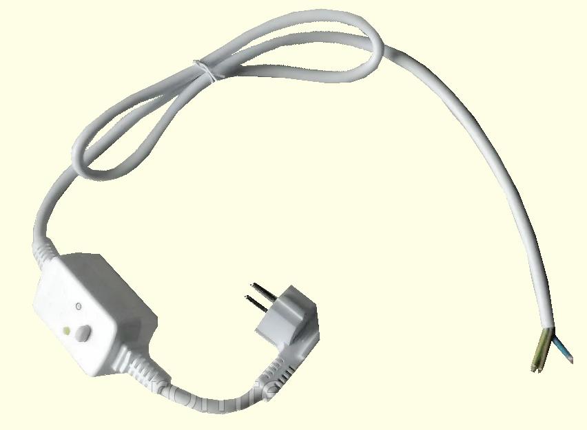 Кабель сетевой электрический с УЗО защитный 16А/ 250V/ для бойлеров Италия