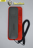 Трубка для домофона Cyfral SMART-U (Графит-красная)